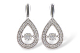 B216-20007: EARRINGS .59 TW