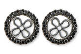 C216-19107: EARRING JACKETS .34 TW (FOR 1.50-2.00 CT TW STUDS)