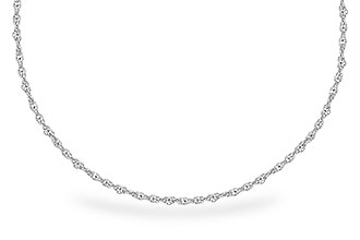 C300-79107: 1.5MM 14KT 18IN GOLD ROPE CHAIN WITH LOBSTER CLASP