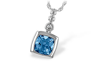 D217-13679: NECK 1.45 BLUE TOPAZ 1.49 TGW