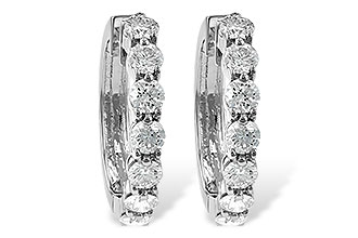 E213-48206: EARRINGS 2 CT TW