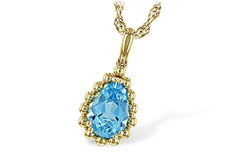E217-12806: NECK 1.55 BLUE TOPAZ TW