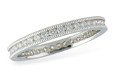 F215-35506: ETERNITY BAND (SZ 7.5) .61 TW