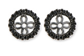 F216-19106: EARRING JACKETS .25 TW (FOR 0.75-1.00 CT TW STUDS)
