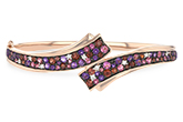 F216-24597: BANGLE 3.12 MULTI-COLOR 3.30 TGW (AMY,GT,PT)