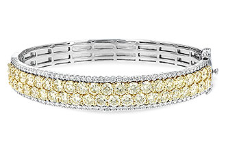 F217-11843: BANGLE 8.17 YELLOW DIA 9.64 TW