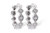 G028-90915: EARRINGS .22 TW