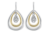 G211-67361: EARRINGS .06 TW