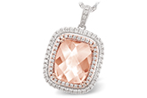 G216-21861: NECK 4.20 MORGANITE 4.66 TGW