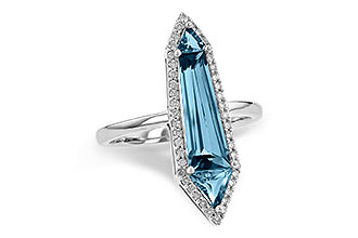 G218-00952: LDS RG 2.20 LONDON BLUE TOPAZ 2.41 TGW