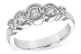 H120-78224: LDS WED RING 1.00 TW