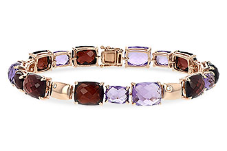 H217-11852: BRACELET 41.55 MULTI-COLOR 41.60 TGW (AMY,GT)