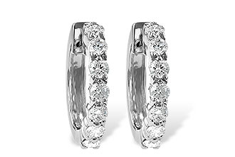 K213-48206: EARRINGS 1.00 CT TW