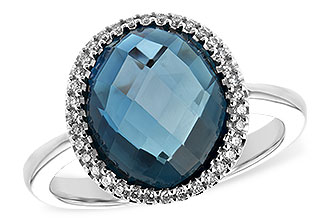 M217-10924: LDS RG 5.31 LONDON BLUE TOPAZ 5.45 TGW